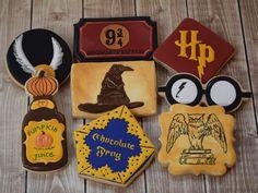 Harry Potter Movie Night #flourishcookies #cookies #harrypotter