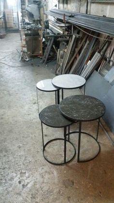 Interior Design Living Room, Living Room Decor, Bedroom Decor, Steel Furniture, Industrial Furniture, Desk Legs, Metal Side Table, Modern Minimalist, Chair Design