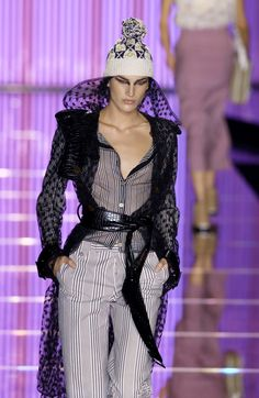 John Galliano at Paris Fashion Week Spring 2002 - StyleBistro