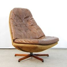 Located using retrostart.com > MS68 Lounge Chair by Aksel Bender Madsen and Hans Thyge Schubell for Bovenkamp
