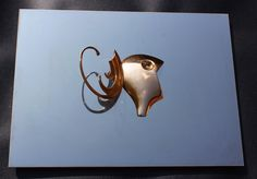 ASAS AOS SONHOS  Bronze em quadro de madeira revestido de aço 40 cm x 55 cm -  2016 - Fernando Cardoso