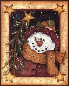 ‿✿⁀°•Snowmen°•‿✿⁀  ~~Mary Ann June