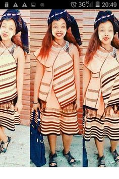 Xhosa Attire, African Culture, Southern, People, Sweaters, Clothes, Dresses, Fashion, Outfits