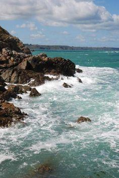 Plouha2 Vagues, mer, rocher , Bretagne Photographie