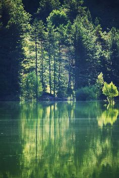 Lago di Gramolazzo, Lucca, Italy