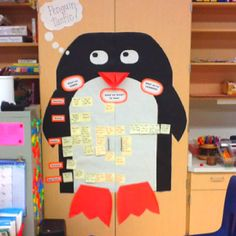 Our KWL chart for our penguin unit!