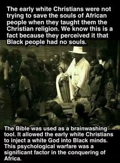 Spiritual Enslavement, Black People and Religion By Any Means Necessary, Christian Religions, Black History Facts, African American History, Critical Thinking, World History, Black People, Things To Know, Fun Facts