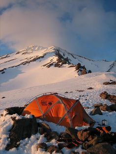 EV2 Mountain Hardware tent