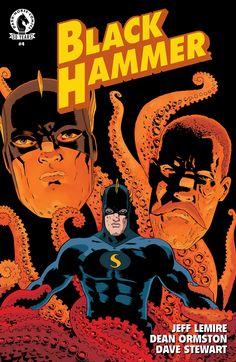 Black Hammer #4 se centra en Abraham Slam, el viejo y clásico héroe. Pero también veremos en mayor detalle el lazo que une a esta peculiar familia.