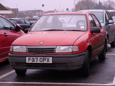Vauxhall Cavalier 1989 - mine was in a nice gold colour. 1.6 and soooo slow! !!