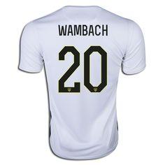 2015 FIFA Women's World Cup USA Abby Wambach 20 Mens Home Soccer Jersey