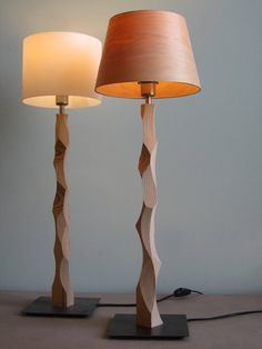 42 Cool Bedside Table Lamps Design Ideas That Look So Awesome - Bedside table lamps are the staple of every bedroom. As a lamp, its main duty is to provide the room with (of course) light for us to move around in t. Table Lamp Wood, Wooden Lamp, Table Desk, Nightstand Lamp, Desk Lamp, Cool Bedside Tables, Industrial Design Furniture, Unique Lamps, Bedroom Lamps
