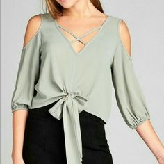 Casual Dresses, Casual Outfits, Fashion Dresses, Blouse Styles, Blouse Designs, Diy Summer Clothes, Sewing Blouses, Modelos Fashion, Blouse Dress