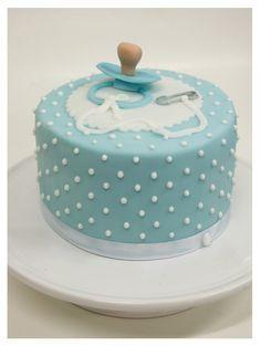 Resultado de imagen de tarta fondant baby shower