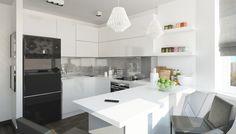 Дизайн кухни П-44Т, ЖК Нерасовка Парк - 1