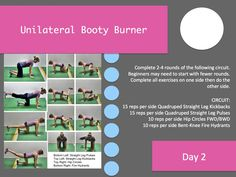 strengthen and activate your glutes. 28 days of workouts http://redefiningstrength.com/the-booty-burner-28-day-challenge/