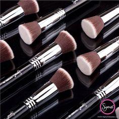 foundation brush, the world-renowned – Flat Kabuki™. Glam Makeup, Love Makeup, Skin Makeup, Makeup Tips, Best Selling Foundation, Foundation Brush, Awesome Foundation, Beauty Make Up, Beauty Care