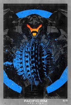 "18/"" x 12/""  Giclee Art Print Poster Pacific Rim Uprising 13"