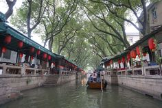 The Venice of the East sits just 30 minutes by train from Shanghai