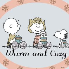 Peanuts - Hot cocoa and marshmallows