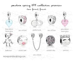 Pandora Spring 2018 collection preview Bella Bot – $60 USD I meed to see this little robot in person! ; Arcs of Love safety chain – $80 USD