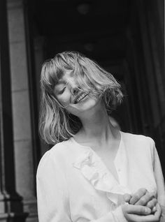 Lou Schoof by Charlotte Wales for Club Monaco Fall 2016 Bad Hair Day, My Hair, Club Monaco, Hair Inspo, Hair Inspiration, The Secret History, Pose, Film Photography, Pretty People