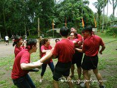 Spider Net, Team Building, Bali, Games