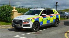 Garda, Audi Q7 Police Vehicles, Emergency Vehicles, Police Cars, Audi Q7, Law Enforcement, Countries, Boats, Ireland, Irish