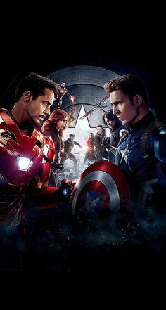 Captain America: Civil War Movie Poster ( of Marvel Dc Comics, Marvel Avengers, Films Marvel, Marvel Fan, Marvel Characters, Marvel Heroes, Ultron Marvel, Captain America Civil War, Wallpaper Marvel