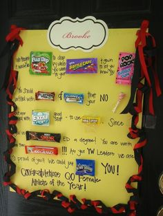 graduate gift idea! Gotta do this for currie in may!