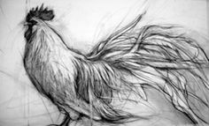 charcoal drawing by April Coppini