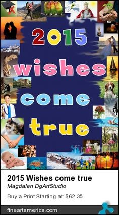 A New Year greeting card with 2015 wishes. It can be used as a poster, a card, a calendar's cover.You can ask me to change the color in the center. New Year Greeting Cards, New Year Greetings, Wish Come True, Great Artists, Fine Art America, Art Prints, Wall Art, Printers, Digital