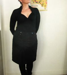 """Refashion Co-op: My """"Get-sexy-in-two-minutes"""" project"""