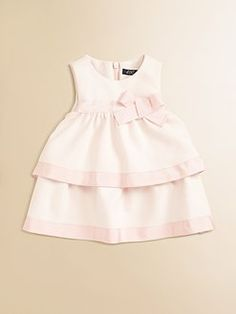 Lili Gaufrette - Infant's Two-Tiered Dress
