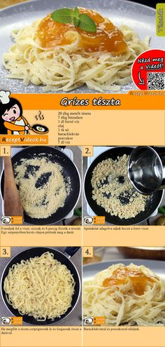Simple Tips Chefs Use To Create The Meal Perfect - Great Cooking Tips Vegetarian Recepies, Veggie Recipes, Cooking Recipes, Hungarian Cuisine, Hungarian Recipes, Smoothie Fruit, Food Grade, No Cook Meals, Food Porn
