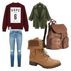 """""""Untitled #298"""" by sophia-solzbacher on Polyvore featuring Studio Concrete, Rebecca Minkoff, Nature Breeze and H&M"""