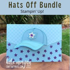 Birthday Cards For Men, Card Tags, Victoria Australia, Stampin Up Cards, Creative Inspiration, Projects To Try, Baseball Hats, Paper Crafts, Feminine