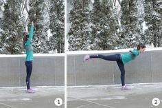 Swan dives are an amazing way to engage multiple muscle groups in this balance and agility workout