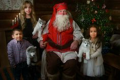 Meeting Santa #lapland Meet Santa