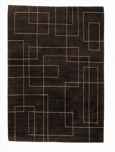 Cityscape Brown by Sam Turner for The Rug Company