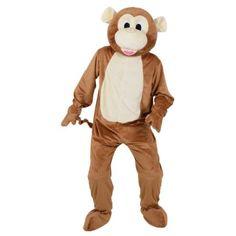 4862c9ec Mascot Mini Mascots Cheeky Monkey Adult Mini Mascot Animal Costumes    Ladies Mens Children's Entertainer Outfits   Fancy Dress: Amazon.co.uk: Toys  & Games