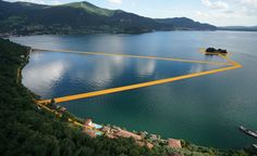 Northern Italy's Lake Iseo just got even more idyllic. Amid the picturesque nature, artists Christo and Jeanne-Claude have laid down a new installation to take the meditative scene to the next level, facilitating some literal walking on water. The...