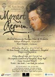 Mozart's Requiem, performed live, is life altering.