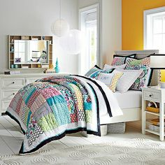 Patch It To Me Quilt + Sham #potterybarnteen