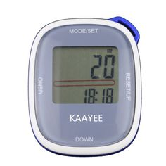 Upgraded Digital Pocket Pedometer by KAAYEE. Large Display and Special Buttons for Easy Reading and Operating for Walking, Fitness Tracking. >>> Details can be found by clicking on the image.