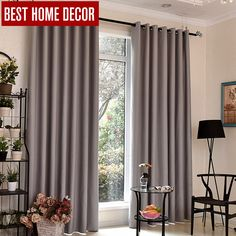 Cheap curtains for, Buy Quality blackout curtains directly from China curtain styles Suppliers: Japan style blackout curtains for bedroom window curtains for living room gray Solid curtains blinds custom made Bedroom Drapes, Window Drapes, Hanging Curtains, Curtains With Blinds, Room Window, Blinds For French Doors, House Blinds, Cheap Curtains, Blackout Blinds
