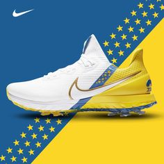 Limited Edition Nike Air Zoom Infinity Tour NRG 2020 #TeamEurope Ryder Cup shoes. 🇪🇺 The Ryder Cup was due to take place at Whistling Straits last month had it not been for the coronavirus pandemic, but #NikeGolf is still celebrating the occasion by releasing to the public their #LimitedEdition Ryder Cup footwear💯. #NikeGolf #AirZoom #AirZoomNRG #InfinityTour #RyderCup #nikeairzoom #golfshoes #golfkicks #golffootwear #golfinDubai
