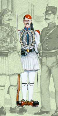 Οι στολές του Ελληνικού Στρατού κατά περιόδους   Army gr Ancient Greek Costumes, Army Uniform, Punk, Warriors, Empire, History, Fashion, Hunters, Moda