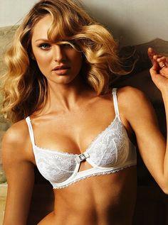 Supermodel Candice Swanepoel - Sexy Bride