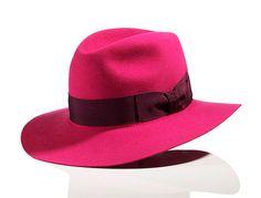 """Bec & Bridge """"Bianca Adventurer"""" Fedora in Pink"""